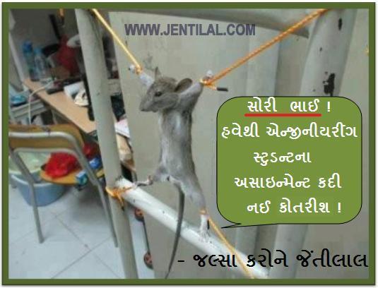 gujarati jokes rat