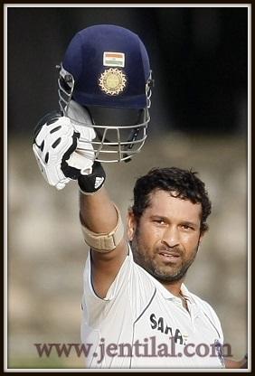 Sachin Tendulkar signals century No. 48, Sri Lanka v India, 2nd Test, SSC, 3rd day, July 28, 2010-001